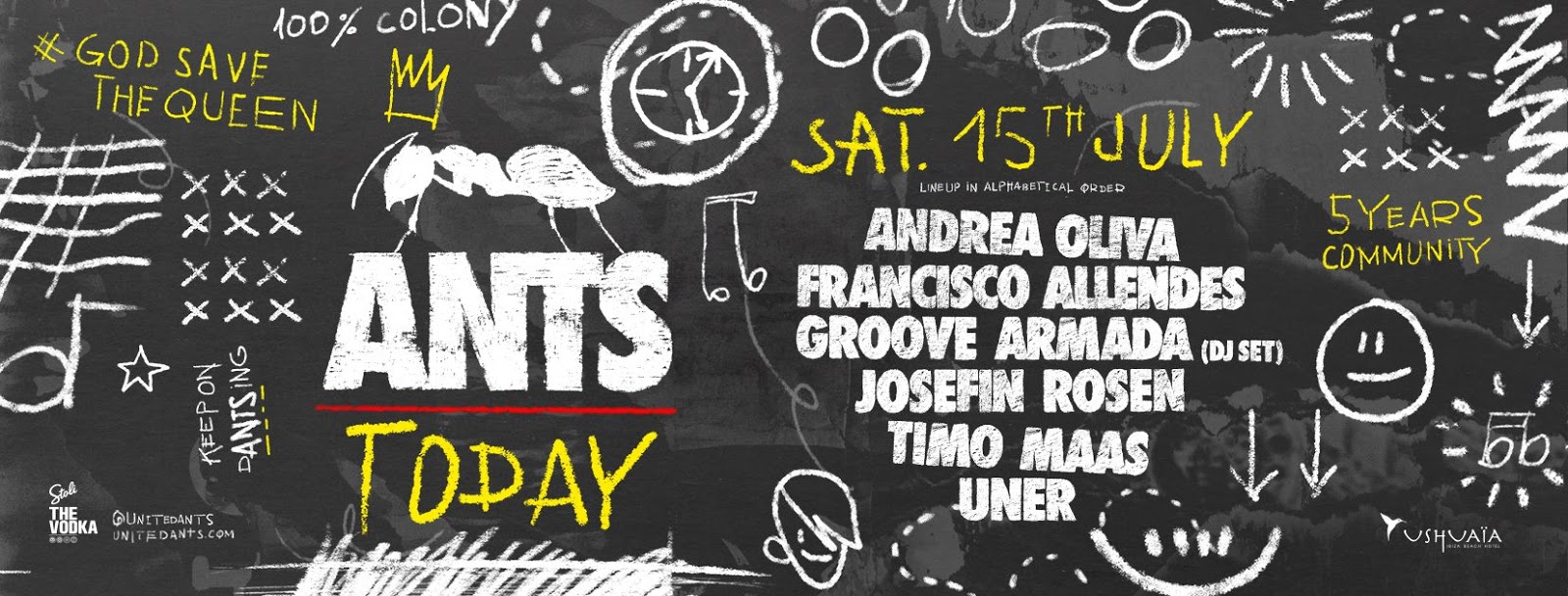 Francisco Allendes @ Ants Party, Ushuaïa Ibiza - 15 July 2017