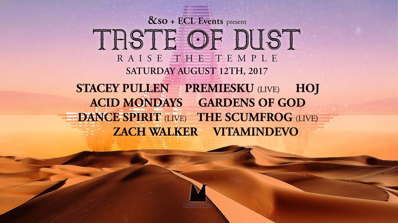 Hoj @ Taste Of Dust Raise The Temple, Brooklyn Mirage - 12 August 2017