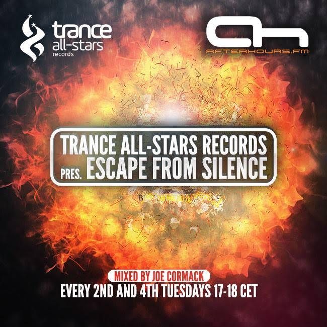 Trance All-Stars Records - Escape From Silence 204 on AH.FM 10-07-2018